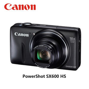CANON Memory-Card Digital-Camera Compact Powershot USED 16MP 8GB SX600 HS 18x Fully-Tested