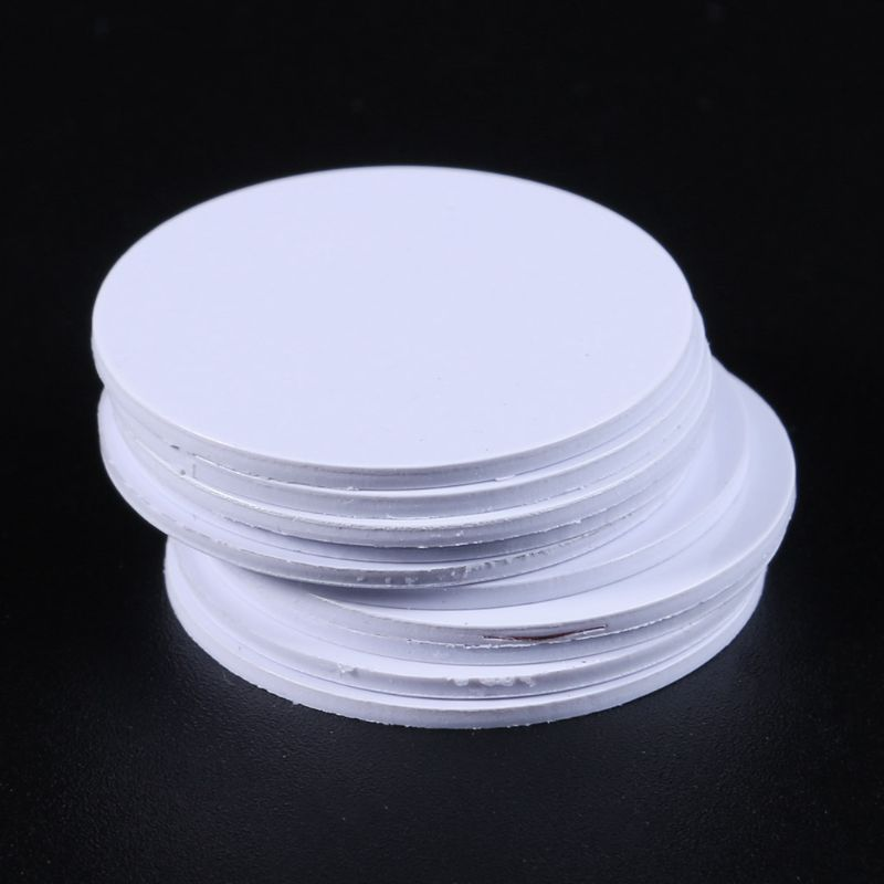 10PCS Ntag215 NFC Tags Phone Available Adhesive Labels RFID Tag 25mm