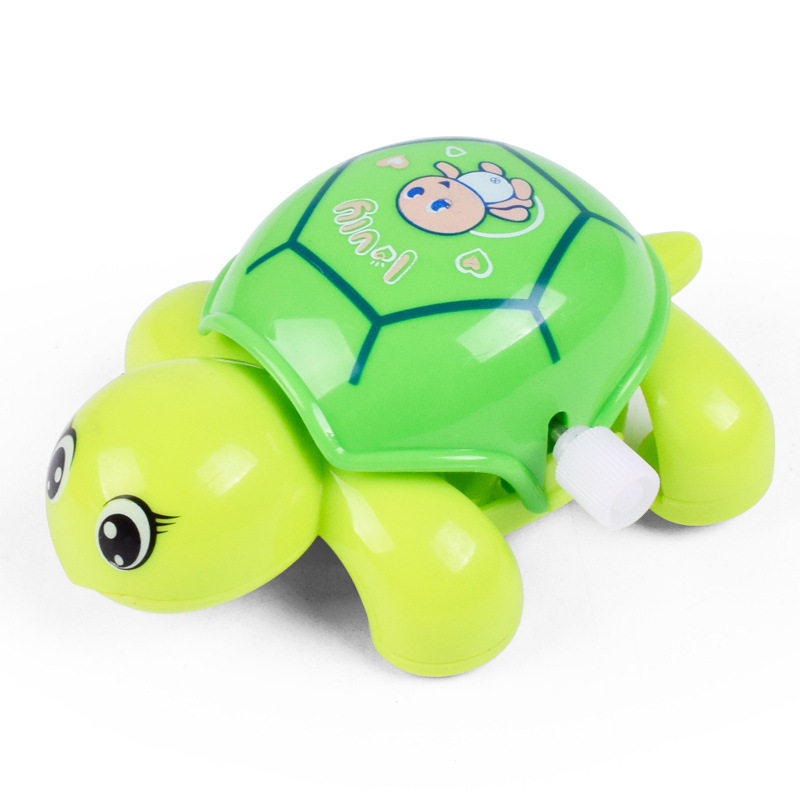 Infants Children Wind-up Toy Wholesale Chain Cartoon Animal Run Little Turtle Creative Educational Winding Toy
