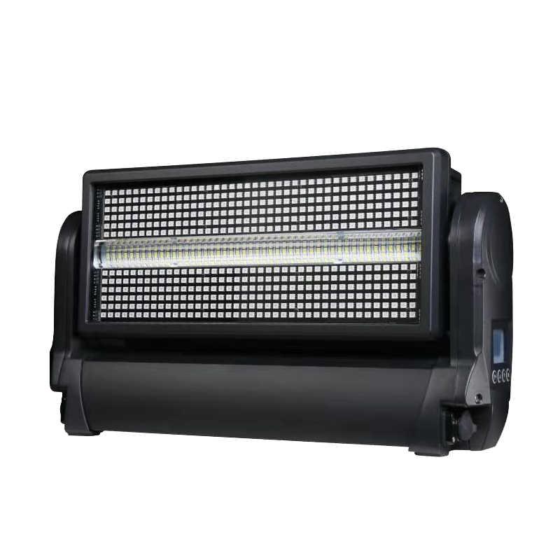 משלוח חינם Comel sip 480*0.5W RGB 3 ב 1 נוריות strobe שלב אפקט אור dmx לשטוף מבול תאורה עבור dj הזזת ראש dj