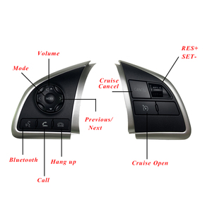 Image 4 - עבור מיצובישי הנכרי 2013 2014 2015 2016 2017 2018 מתג בקרת שיוט הגה כפתור אודיו אנדרואיד נגן מתגים