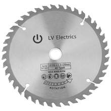 Circulaire Cut Saw 165*20 Mm 40 Tanden Diamond Circular Cut Saw Houtbewerking Rotary Tool Snijden Disc(China)