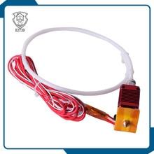 цена на Full Metal J-head Hotend MK8 Assembled Extruder Hotend Kit Filament 1.75MM 0.4MM 3D Printer Part