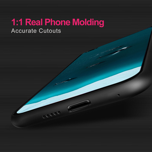 Image 2 - สำหรับ Honor V30 กรณี V30Pro สำหรับ Huawei V30 Pro กรณี Mofi ซิลิโคนกันกระแทกแก้ว Capa PU หนัง Coque
