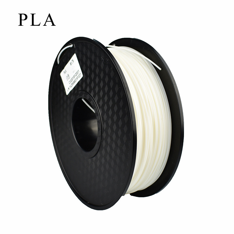 EasyThreed 250g 1.75mm 3D Printer PLA Filament Printing Materials White 3D Plastic Printing Material Extruder Pen Accessories|3D Printing…