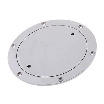 """Boat / Marine 6"""" 316 Stainless Steel Deck Plate"""