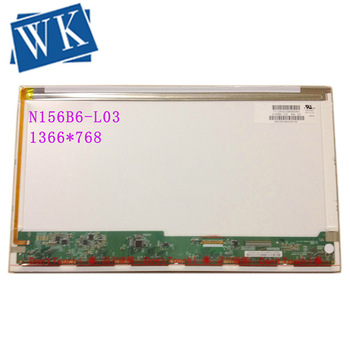 N156B6-L03 L04 B156XW02 V.1 V.0 LTN156AT03 LP156WH2-TLC1 Laptop LCD Screen 1366*768 40 pin Right Connector