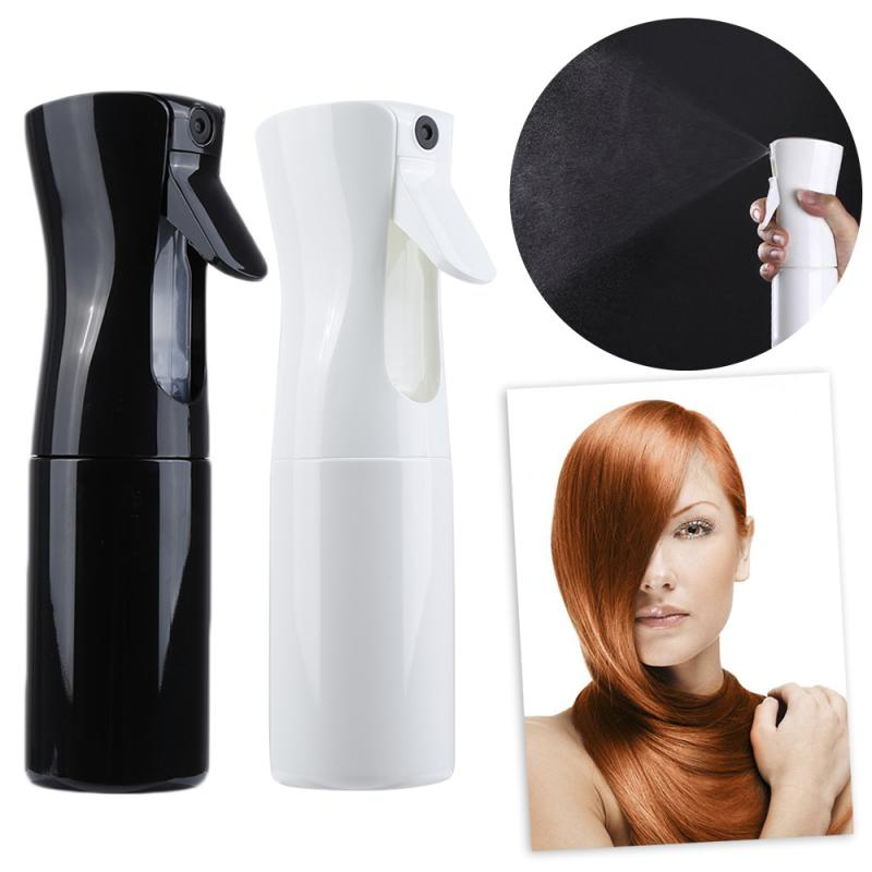 1pc Black/White Hairdressing Plastic Portable Empty Travel Refillable Mist Bottle Salon Barber Hair Water Sprayer Care Tools