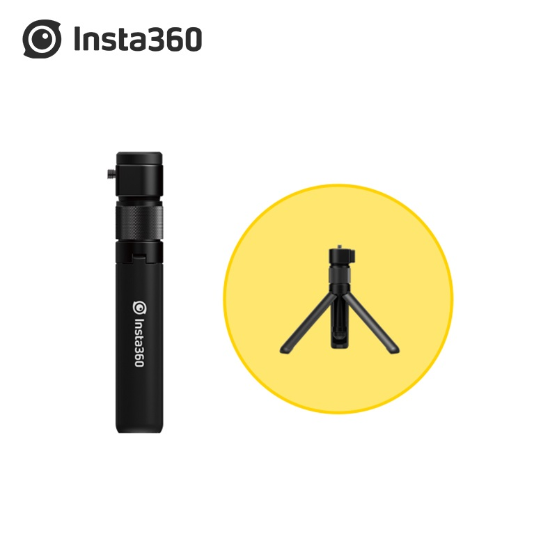 Insta360 ONE R / One X /ONE  X2 Bullet Time Selfie Stick Tripod 1/4 Screw Port Insta 360 Invisible Accessories