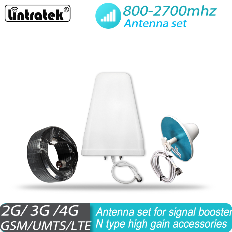 Antenna Set For Signal Booster 2G 3G 4G GSM UMTS LTE 800 - 2700MHz DCS AWS WCDMA PCS CDMA Antenna Set For Signal Booster #30