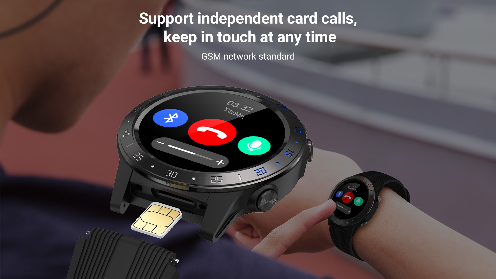 H51715a25bb0f48fca9e8079e553e69d1o GPS Smartwatch Men With SIM Card Fitness Compass Barometer Altitude M5 Mi Smart Watch Men Women 2021 for Android Xiaomi