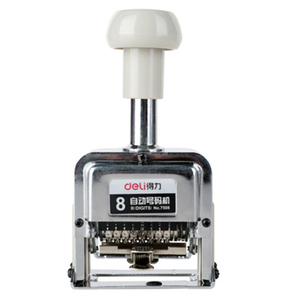 Image 2 - DL Power 7508 automatic  machine 8 manual number machine digital rotation stamp numbering whosale Teaching equipment for office