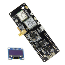 TTGO t beam V1.1 ESP32 433/868/915/923Mhz WiFi Bluetooth Module ESP32 GPS NEO 6M SMA 18650 support de batterie avec OLED