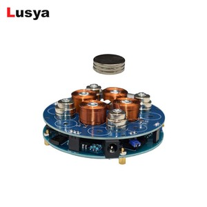 Image 1 - DIY magnetic levitation module Maglev Furnishing Articles Kit Magnetic Suspension Digital Module with LED lamp weight 150g