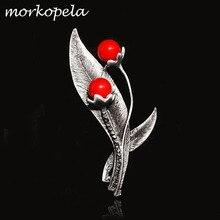 Morkopela, Женская Брошь, винтажный камень, большая брошь, букет, одежда, булавка, антикварные металлические броши и булавки для женщин