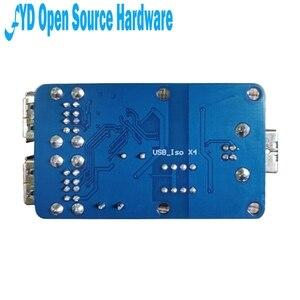 Image 3 - 1pcs Quad USB Isolator USB HUB Isolation Module Coupling Protection Board ADUM3160