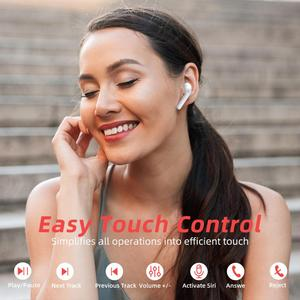 Image 4 - Mpow M21 TWS Earphone Bluetooth 5.0 Wireless Headphones 18 Hours Playing Tiem With Charging Case Touch Control Earbuds For Phone
