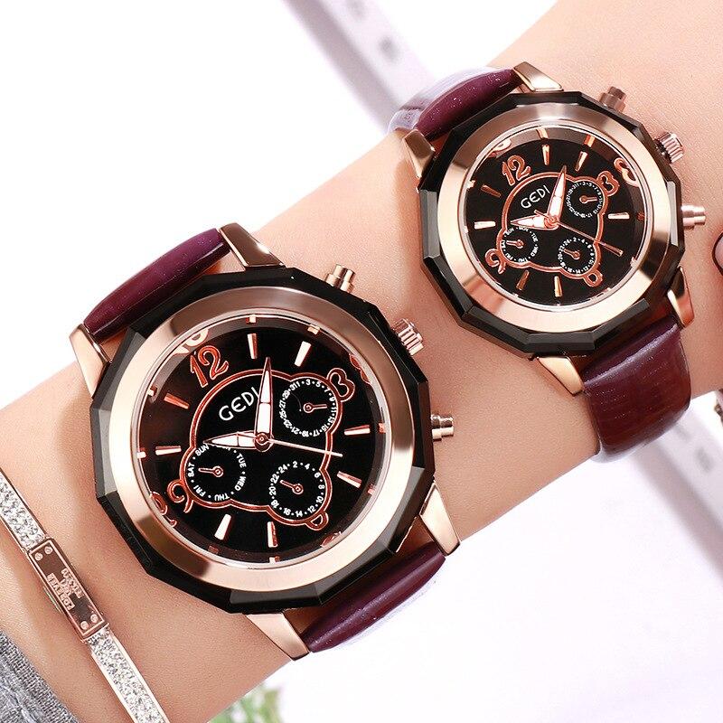 Little Fragrance Style British Style Watch Waterproof Fashion Belt Couple Watches