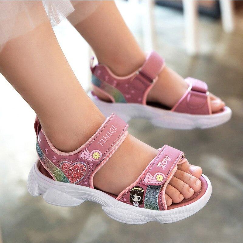 criancas sandalias macio princesa sandalias de pouco 01