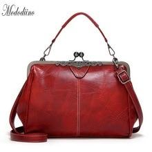 Mododiino Lady Purses And Handbag Women Bag Leisure Shoulder Clip PU Leather Female Crossbody DNV1153