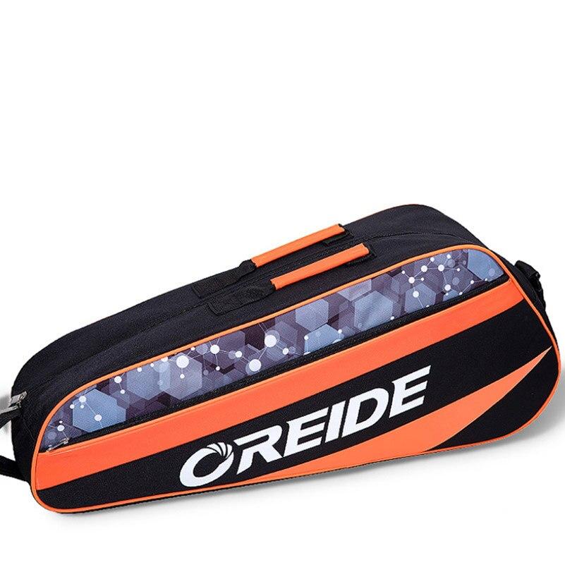 Oxford Cloth 3-6 Badminton Tennis Rackets Bags Men Women Single Shoulder Backpack Large Outdoor Sports Equipment
