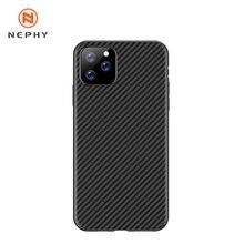 Нескользящий мягкий чехол из углеродного волокна для iPhone 11 Pro Max 11Pro XS XR X 5 6 5SE 5S 6S 7 8 Plus 6Чехол XЧехол Чехол7 Чехол8 Чехол11 11Чехол мобильного теле...