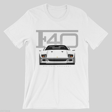 2019 Newest MenS Funny Car F40 Shirt - F50, F12, 458, Enzo, Supercar, 430, 599, Band Shirts