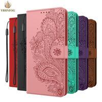 Funda billetera de lujo para Huawei P20 P30 Lite Honor 8A 8S 9S 10 Lite P Smart 2020 Y5 Y6 Pro 2019 Nova 4E, Funda de cuero con tapa y soporte