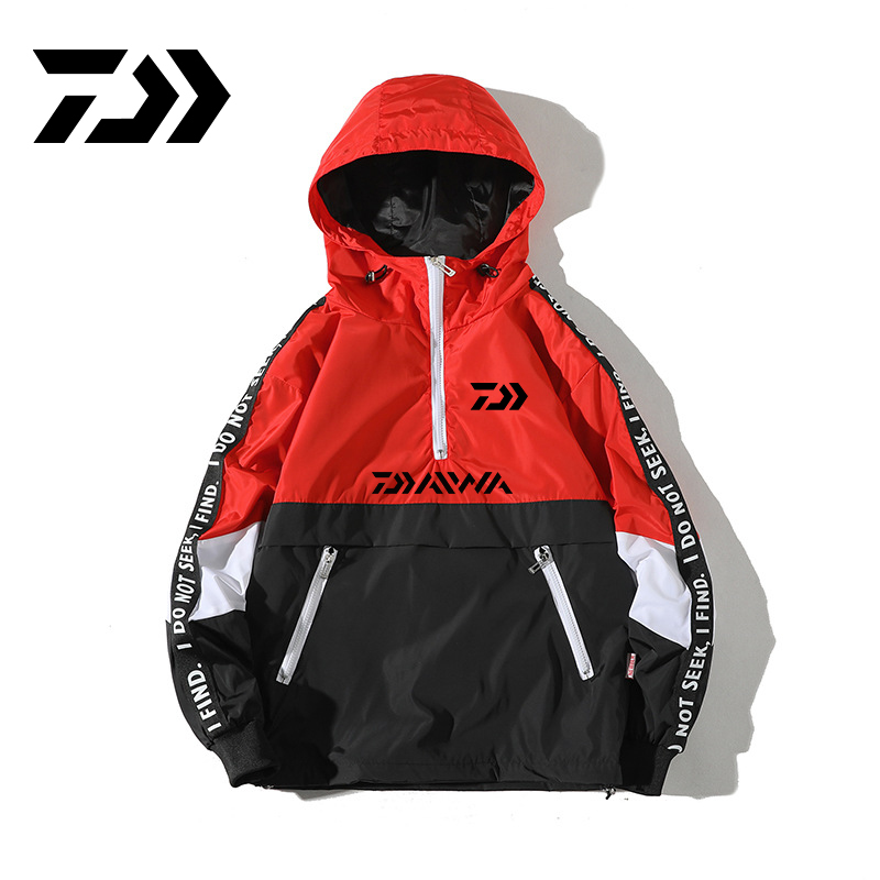 2020 DAIWA Outdoor Fishing Shirts Ultrathin Hooded Camping DAWA Fishing Clothing Quick Dry Fashion Fishing Jackets Sport Clothes