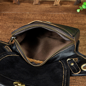 Image 5 - Norbinus גברים אמיתי עור מותן תיק פאני חבילת Messenger שקיות זכר נסיעות היפ Bum חגורת תיק אופנוע זרוק רגל תיק