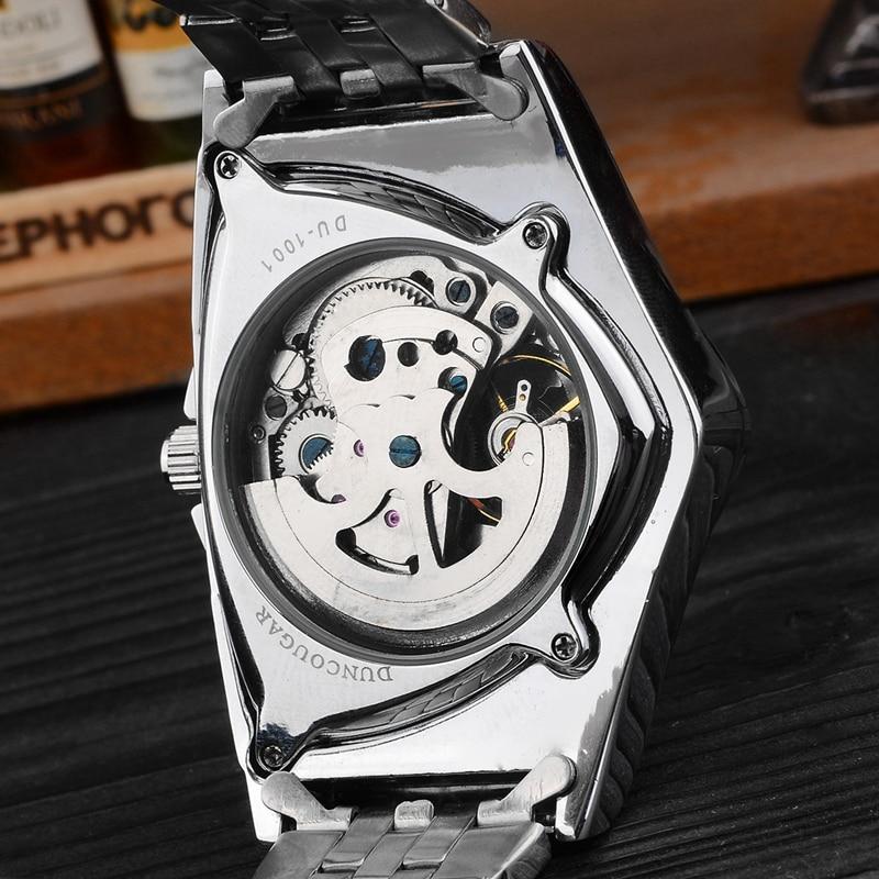 H5173e0e81dfc43a387ebb015da0abd69A Men Watch Hollow Triangular Mechanical Watches Stainless Steel Men's Wristwatches Fashion Brand Men Clock Male Dropshipping!!!