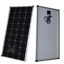 Factory direct 100W-400w panel słoneczny monokrystaliczny domowy off-grid panel fotowoltaiczny energii słonecznej tanie tanio ALLPOWERS CN (pochodzenie) Ogniwa słoneczne 1165mm*552mm*30mm Monokryształów krzemu solar panel 100W solar panel 18V
