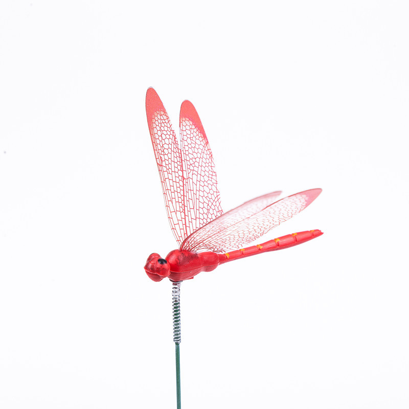 Set Of 10pcs Dragonflies Insert Rod Gardening Decoration Simulation Dragonfly Home Decoration Background Gardening Decoration Decorative Stakes Wind Spinners Aliexpress
