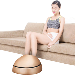 Image 1 - Electric foot massager roller Massage Machine fashion leather massager for back foot Infrared With heating Shiatsu Kneading