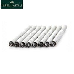 Faber Castell Needle Pen Drawing Waterproof 0.2 0.4 0.6 0.8 Sketch Hook Pen Sign Pen For Designer Architect Artist Office 1663      -