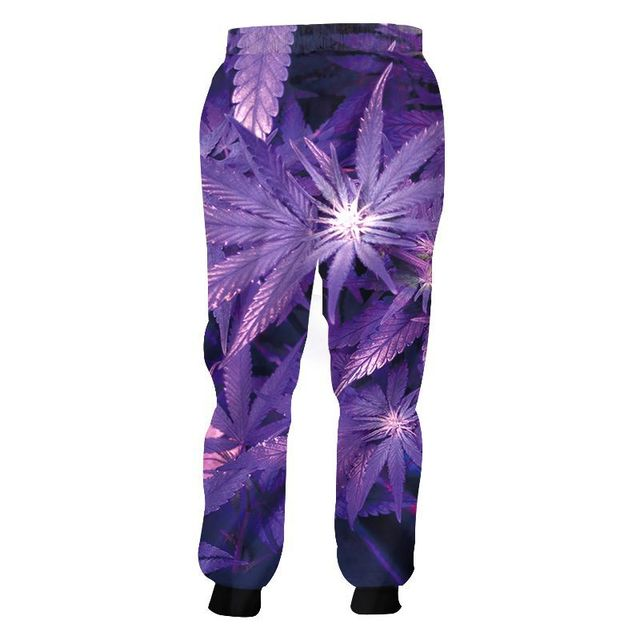 Fashion Weeds Pants Unisex 3D Smoking Leaf Print Casual Loose Trousers Streetwear Hip Hop Active Sports Joggers Sweatpants S-4XL 4