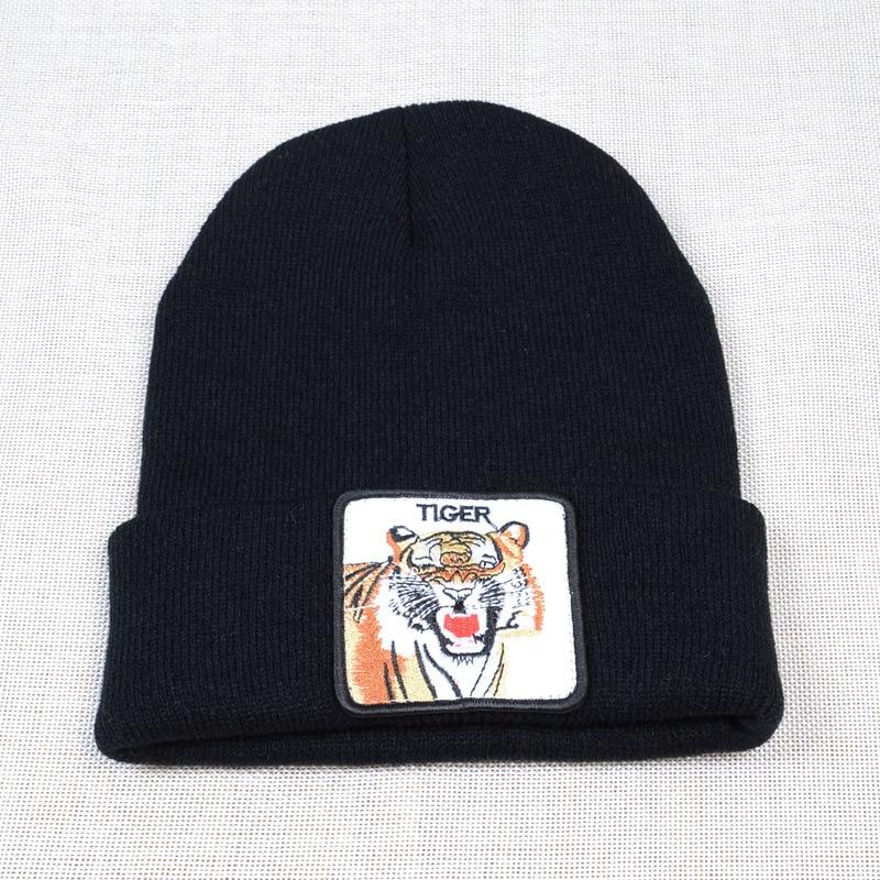 Купить новый дизайн осень зима унисекс вышивка с тигром изысканный