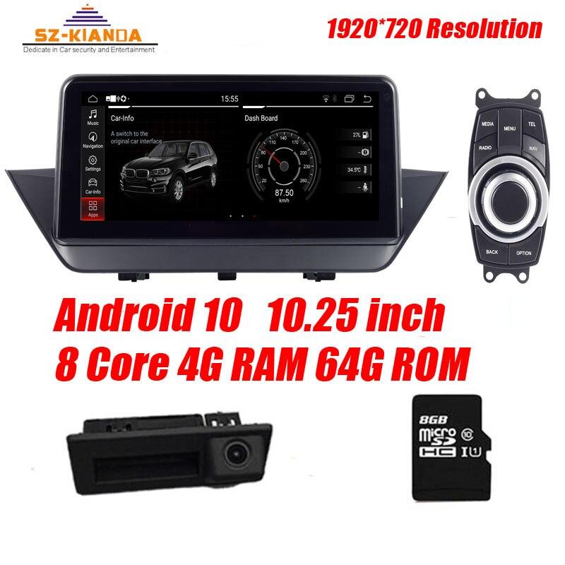 """Fabryka cena 10.25 """"HD Android 10.0 samochodowy odtwarzacz dvd odtwarzacz dla BMW X1 E84 2009 ~ 2015 iDrive samochodowe Stereo Audio nawigacja multimedialna GPS"""