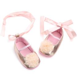 Новое поступление; шелковая лента; сезон весна-осень; детская обувь для новорожденных; нескользящая Мягкая подошва; обувь для маленьких
