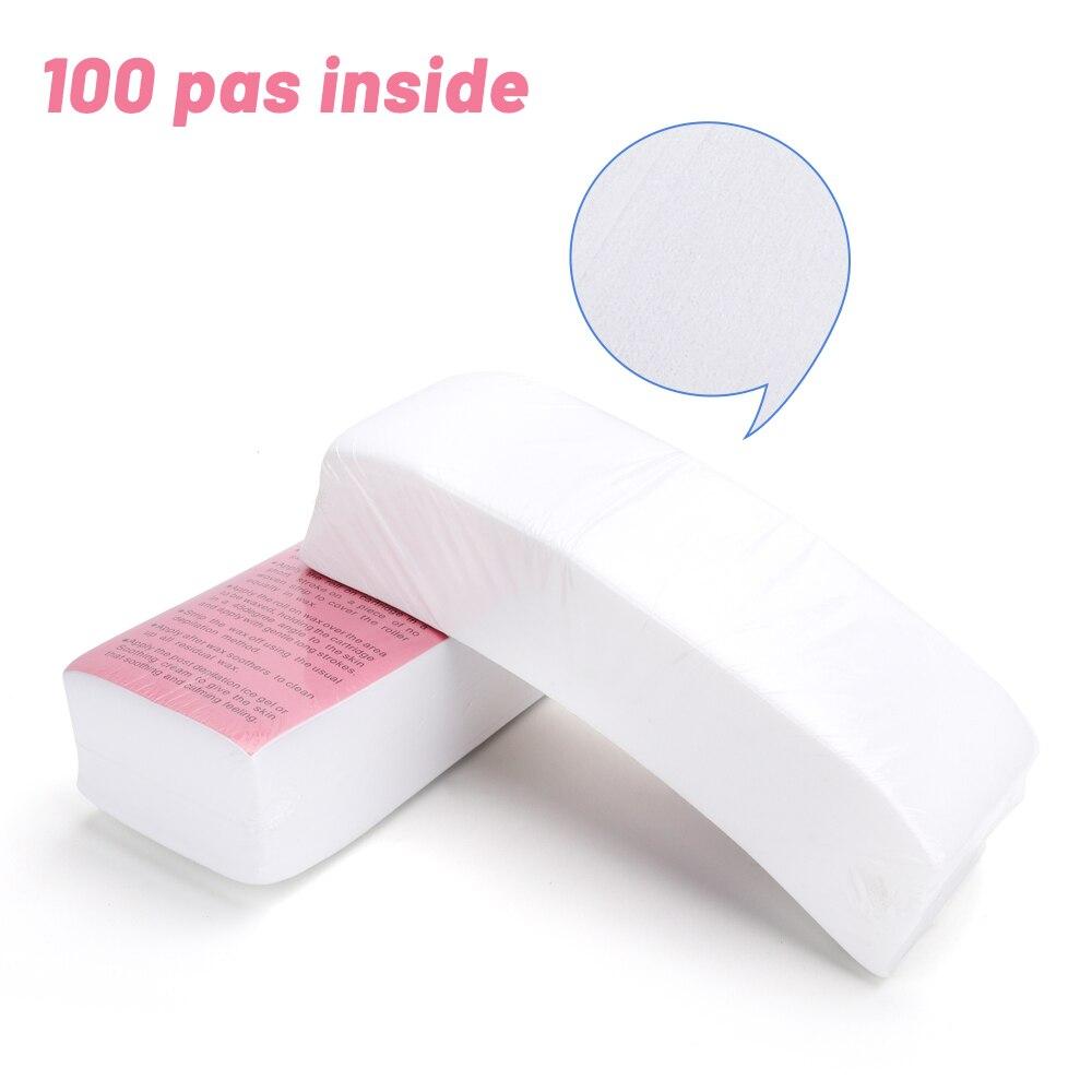 de cabelo remover rolos de papel cera