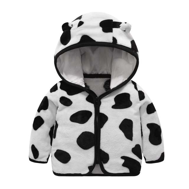 Hooded Fleece Baby Coat 6