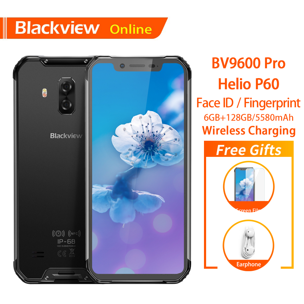 Blackview BV9600 Pro Original 6 21 Waterproof Rugged Mobile Phone 19 9 AMOLED Android 8 1