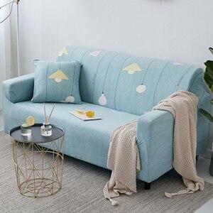 Image 2 - Crianças antiderrapantes da espuma da parte inferior elástica, tela do jacquard do elastano sofá protetor da mobília do slipcover da capa do sofá do estiramento macio com