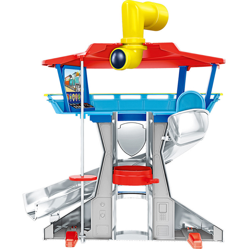 Paw Patrol Tower Dog Plastic Playset Observatory Toys Patrulla Canina Toy With Voice Action Figures Model Toy Children Gifts