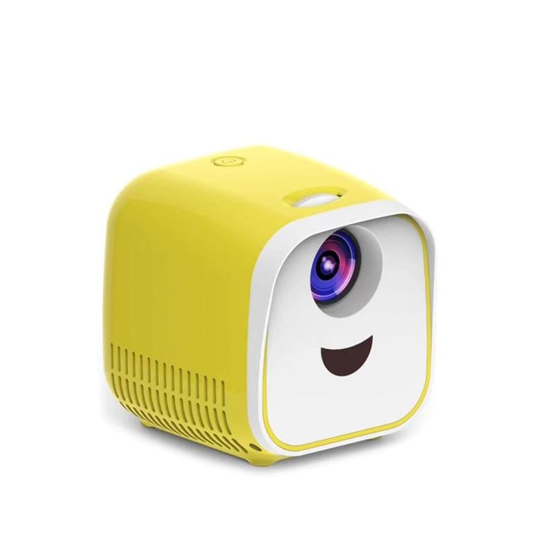 Vivibright L1 Neue Mini Projektor WIFI USB Kinder Tragbare Projektor 1000 Lumen Micro Video Projektor 320x240p Für familie