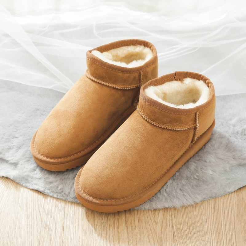 2020 ladies mini ankle boots free shipping custom natural wool ladies winter classic snow boots real sheepskin ladies boots