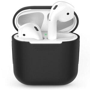 Image 5 - Tpu silicone bluetooth sem fio fone de ouvido caso para airpods capa protetora acessórios da pele para apple ar pods caixa de carregamento