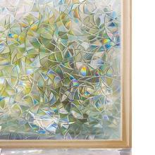 WXSHSH 3D декоративная оконная пленка для конфиденциальности витражная оконная наклейка, оконная самоклеящаяся виниловая статическая анти-УФ пленка для тонирования стекла