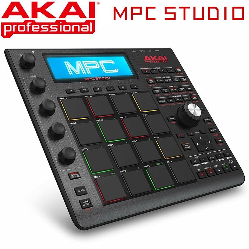 AKAI Professional MPC Studio Slimline Music Production Controller MIDI Connector - Black