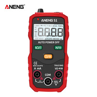 ANENG S1 Digital Multimeter True RMS Auto Range Professional LCD automatic Smart Multimeters Voltage Ammeter Tester|Multimeters| |  -